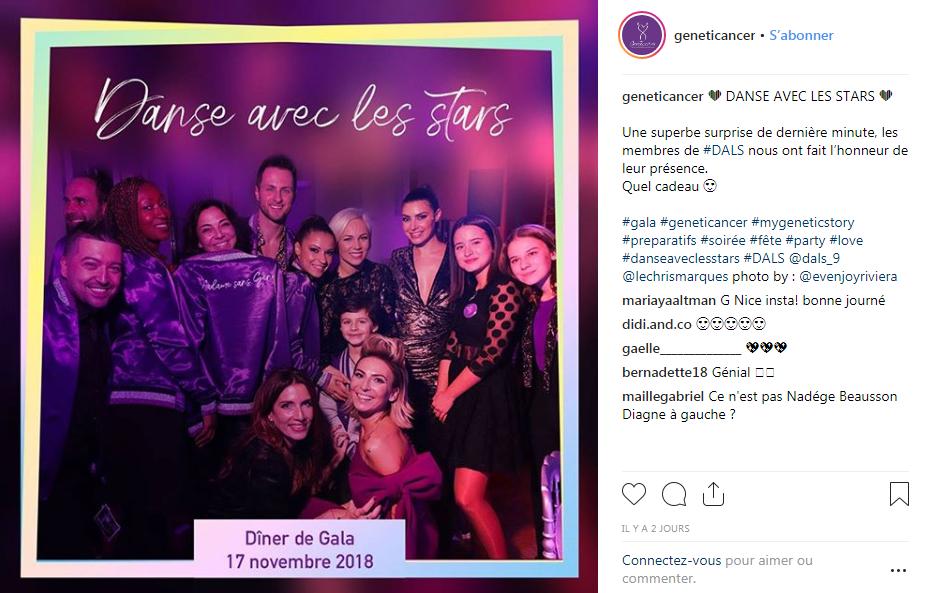 Geneticancer 2018 Grand dîner de Gala