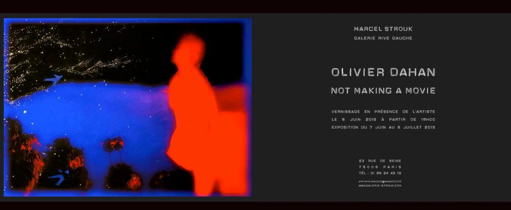 NOT MAKING A MOVIE de Olivier Dahan - MARCEL STROUK Galerie Rive Gauche Paris