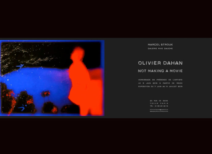 NOT MAKING A MOVIE de Olivier Dahan - MARCEL STROUK Galerie Rive Gauche Paris