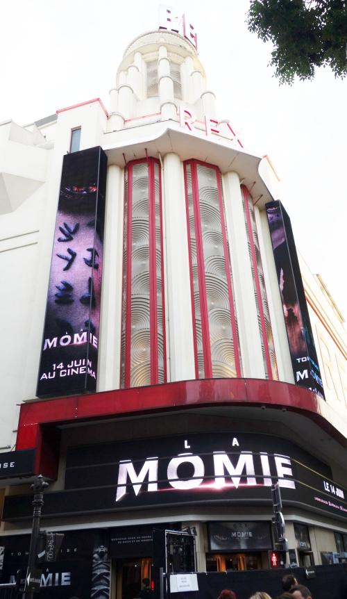 Momie cruise paris